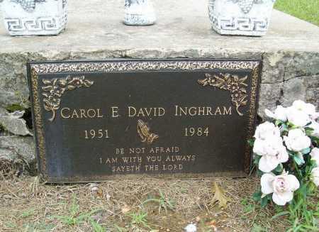 INGHRAM, CAROL E. - Benton County, Arkansas | CAROL E. INGHRAM - Arkansas Gravestone Photos