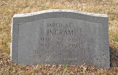 INGRAM, JARED LEE - Benton County, Arkansas | JARED LEE INGRAM - Arkansas Gravestone Photos