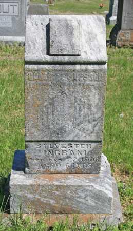 INGRAM, SYLVESTER - Benton County, Arkansas   SYLVESTER INGRAM - Arkansas Gravestone Photos