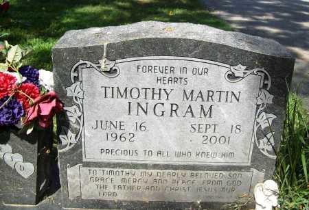 INGRAM, TIMOTHY MARTIN - Benton County, Arkansas | TIMOTHY MARTIN INGRAM - Arkansas Gravestone Photos