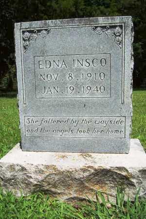 INSCO, EDNA - Benton County, Arkansas | EDNA INSCO - Arkansas Gravestone Photos