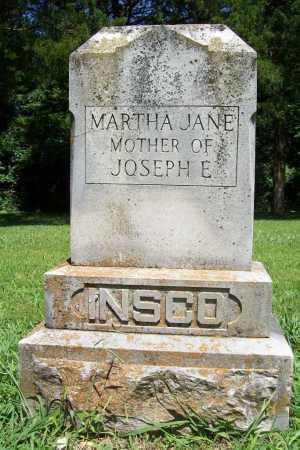 INSCO, MARTHA JANE - Benton County, Arkansas | MARTHA JANE INSCO - Arkansas Gravestone Photos