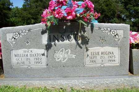 "INSCO, WILLIAM HAXTON ""HACK"" - Benton County, Arkansas | WILLIAM HAXTON ""HACK"" INSCO - Arkansas Gravestone Photos"
