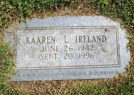 IRELAND, KAAREN L. - Benton County, Arkansas | KAAREN L. IRELAND - Arkansas Gravestone Photos