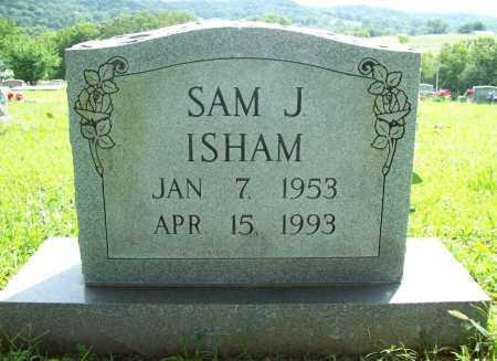 ISHAM, SAM J. - Benton County, Arkansas   SAM J. ISHAM - Arkansas Gravestone Photos