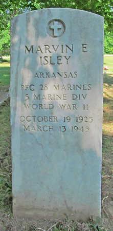 ISLEY (VETERAN WWII), MARVIN E - Benton County, Arkansas   MARVIN E ISLEY (VETERAN WWII) - Arkansas Gravestone Photos