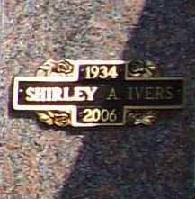 IVERS, SHIRLEY A. - Benton County, Arkansas | SHIRLEY A. IVERS - Arkansas Gravestone Photos