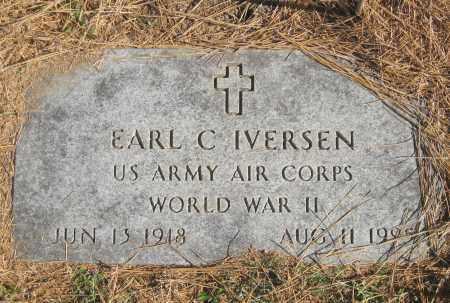 IVERSEN (VETERAN WWII), EARL C. - Benton County, Arkansas | EARL C. IVERSEN (VETERAN WWII) - Arkansas Gravestone Photos