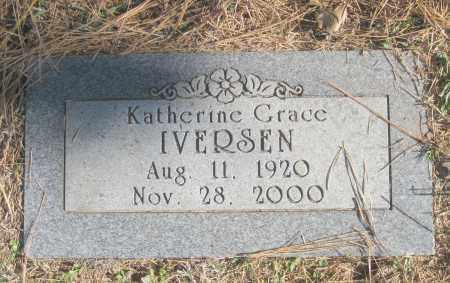 SCANLON IVERSEN, KATHERINE GRACE - Benton County, Arkansas | KATHERINE GRACE SCANLON IVERSEN - Arkansas Gravestone Photos