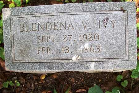 IVY, BLENDENA V. - Benton County, Arkansas | BLENDENA V. IVY - Arkansas Gravestone Photos