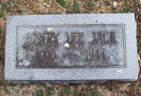 JACK, HENRY LEE - Benton County, Arkansas | HENRY LEE JACK - Arkansas Gravestone Photos