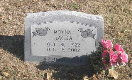 FORD JACKA, MEDINA I. - Benton County, Arkansas | MEDINA I. FORD JACKA - Arkansas Gravestone Photos