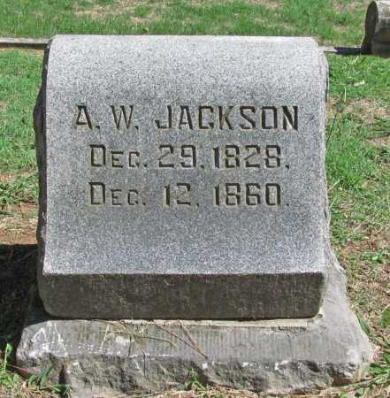 JACKSON, A W - Benton County, Arkansas | A W JACKSON - Arkansas Gravestone Photos