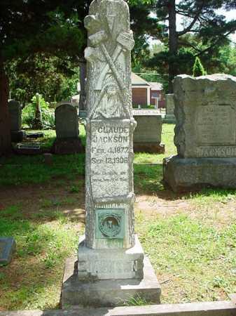 JACKSON, CLAUDE - Benton County, Arkansas | CLAUDE JACKSON - Arkansas Gravestone Photos