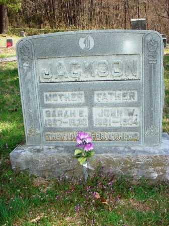 JACKSON, JOHN W. - Benton County, Arkansas   JOHN W. JACKSON - Arkansas Gravestone Photos