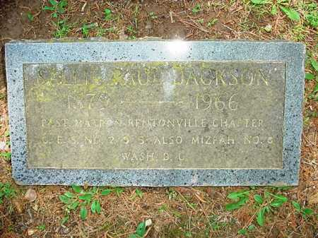 JACKSON, SALLIE - Benton County, Arkansas | SALLIE JACKSON - Arkansas Gravestone Photos