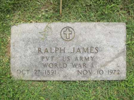 JAMES (VETERAN WWI), RALPH - Benton County, Arkansas | RALPH JAMES (VETERAN WWI) - Arkansas Gravestone Photos