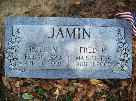 JAMIN, RUTH N. - Benton County, Arkansas | RUTH N. JAMIN - Arkansas Gravestone Photos