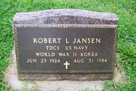 JANSEN (VETERAN 2 WARS), ROBERT L. - Benton County, Arkansas | ROBERT L. JANSEN (VETERAN 2 WARS) - Arkansas Gravestone Photos