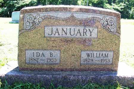 JANUARY, WILLIAM - Benton County, Arkansas | WILLIAM JANUARY - Arkansas Gravestone Photos