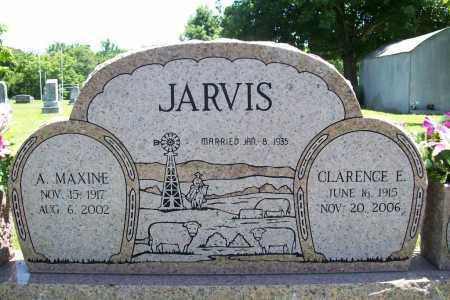JARVIS, CLARENCE E. - Benton County, Arkansas   CLARENCE E. JARVIS - Arkansas Gravestone Photos