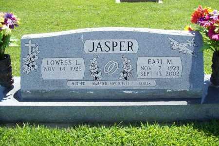 JASPER, EARL M. - Benton County, Arkansas | EARL M. JASPER - Arkansas Gravestone Photos