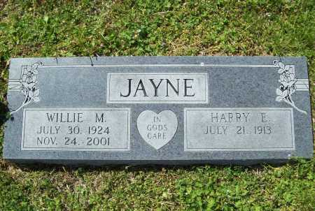 JAYNE, WILLIE MARIE - Benton County, Arkansas | WILLIE MARIE JAYNE - Arkansas Gravestone Photos