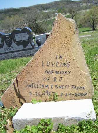 JAYNE, WILLIAM ERNEST - Benton County, Arkansas | WILLIAM ERNEST JAYNE - Arkansas Gravestone Photos