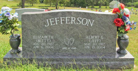 "JEFFERSON, ELIZABETH ""BETTY"" - Benton County, Arkansas 