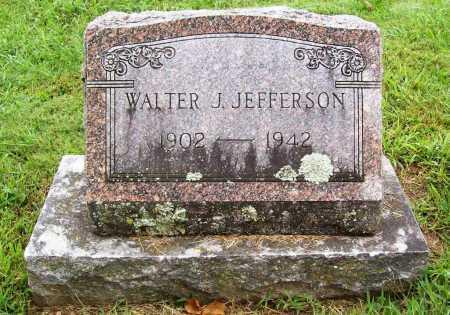 JEFFERSON, WALTER J. - Benton County, Arkansas   WALTER J. JEFFERSON - Arkansas Gravestone Photos
