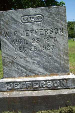 JEFFERSON, W. P. - Benton County, Arkansas   W. P. JEFFERSON - Arkansas Gravestone Photos