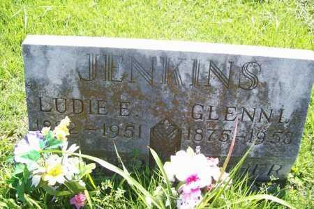 JENKINS, LUDIE E. - Benton County, Arkansas | LUDIE E. JENKINS - Arkansas Gravestone Photos