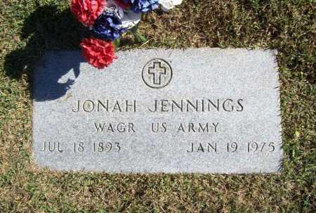JENNINGS (VETERAN WWI), JONAH - Benton County, Arkansas   JONAH JENNINGS (VETERAN WWI) - Arkansas Gravestone Photos