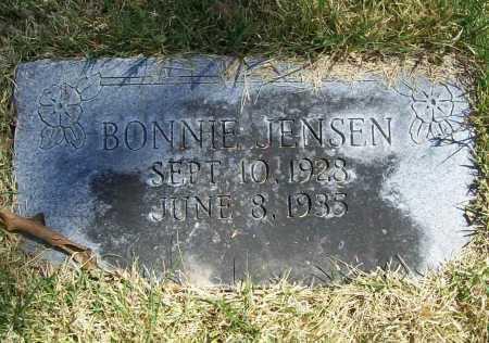 JENSEN, BONNIE - Benton County, Arkansas | BONNIE JENSEN - Arkansas Gravestone Photos