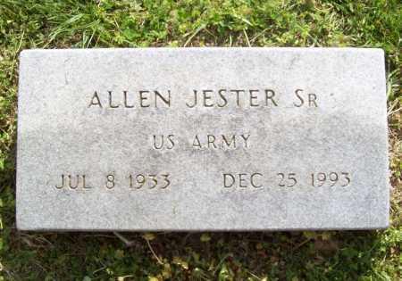 JESTER, SR (VETERAN), ALLEN - Benton County, Arkansas | ALLEN JESTER, SR (VETERAN) - Arkansas Gravestone Photos
