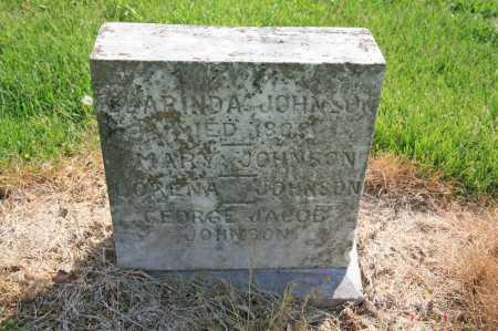 JOHNSON, MARY - Benton County, Arkansas   MARY JOHNSON - Arkansas Gravestone Photos