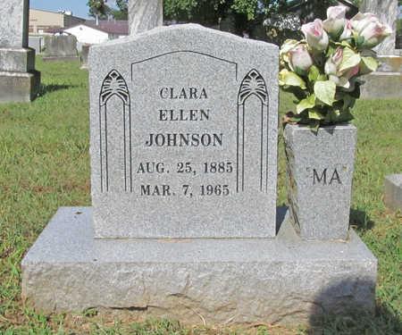 JOHNSON, CLARA ELLEN - Benton County, Arkansas | CLARA ELLEN JOHNSON - Arkansas Gravestone Photos