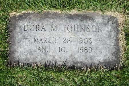 JOHNSON, DORA M. - Benton County, Arkansas   DORA M. JOHNSON - Arkansas Gravestone Photos