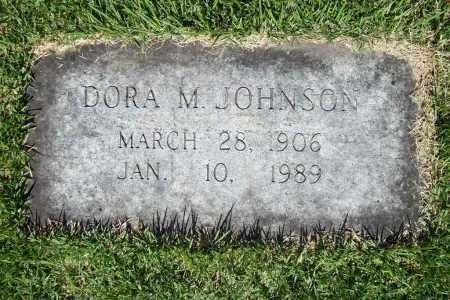 JOHNSON, DORA M. - Benton County, Arkansas | DORA M. JOHNSON - Arkansas Gravestone Photos