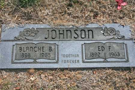 JOHNSON, BLANCHE B. - Benton County, Arkansas | BLANCHE B. JOHNSON - Arkansas Gravestone Photos