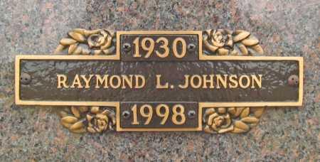 JOHNSON, RAYMOND L. - Benton County, Arkansas | RAYMOND L. JOHNSON - Arkansas Gravestone Photos