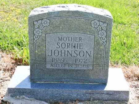 JOHNSON, SOPHIE - Benton County, Arkansas | SOPHIE JOHNSON - Arkansas Gravestone Photos