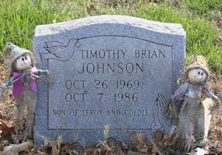 JOHNSON, TIMOTHY BRIAN - Benton County, Arkansas | TIMOTHY BRIAN JOHNSON - Arkansas Gravestone Photos