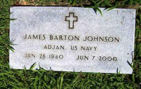JOHNSON (VETERAN), JAMES BARTON - Benton County, Arkansas | JAMES BARTON JOHNSON (VETERAN) - Arkansas Gravestone Photos