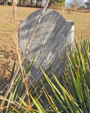JOHNSON, W. J. - Benton County, Arkansas   W. J. JOHNSON - Arkansas Gravestone Photos