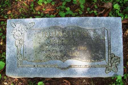 JOHNSTON, WALTER L. - Benton County, Arkansas   WALTER L. JOHNSTON - Arkansas Gravestone Photos