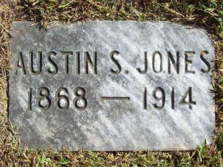 JONES, AUSTIN S - Benton County, Arkansas   AUSTIN S JONES - Arkansas Gravestone Photos