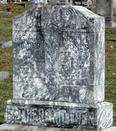 JONES, ASENAH J - Benton County, Arkansas | ASENAH J JONES - Arkansas Gravestone Photos
