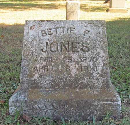 JONES, BETTIE F - Benton County, Arkansas | BETTIE F JONES - Arkansas Gravestone Photos