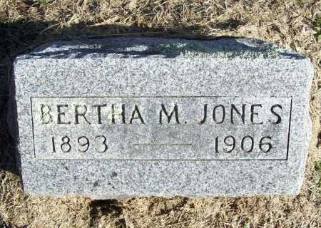JONES, BERTHA M. - Benton County, Arkansas | BERTHA M. JONES - Arkansas Gravestone Photos